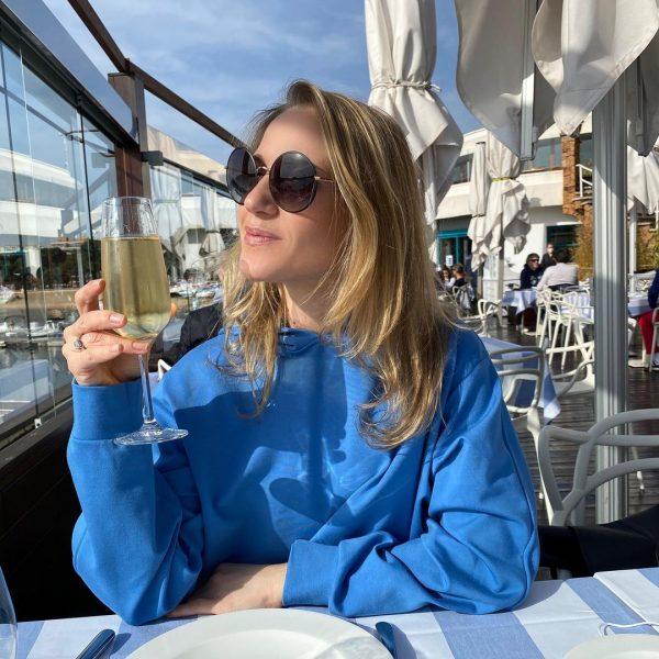 Юлия Ковальчук на отдыхе в Испании