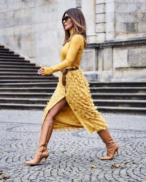 knitted dresses 2021