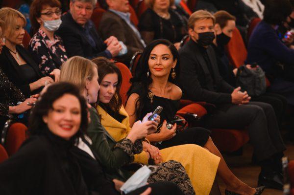 "Ксения Собчак на премьере спектакля ""Кармен""."