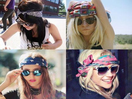 pirate bandanas on girls