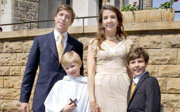 принц Луи, Тесси Энтони, принц Габриэль, принц Ноа,