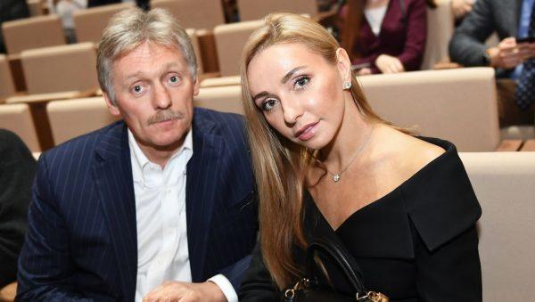 Дмитрий Песков и Татьяна Навка. Фото Газета.ру