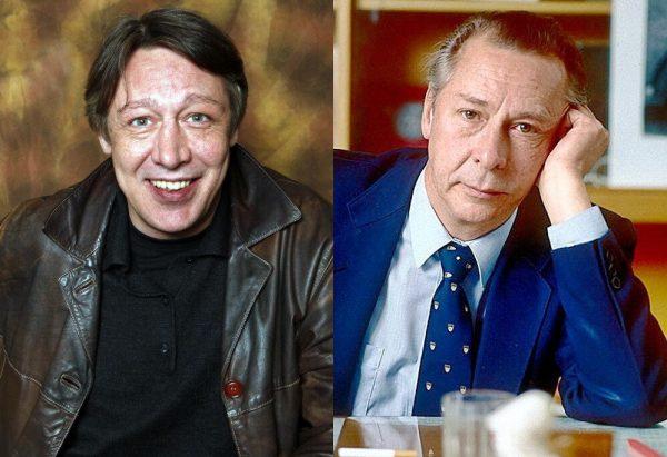 Олег Ефремов и Михаил Ефремов