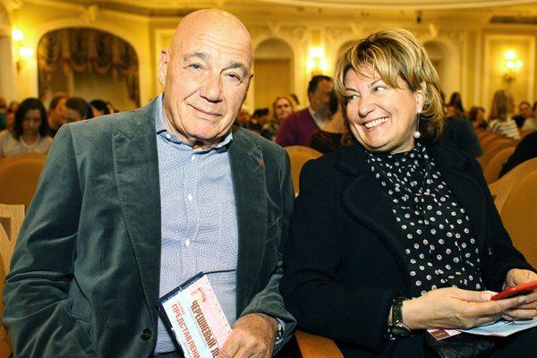 Владимир Познер и Надежда Соловьёва
