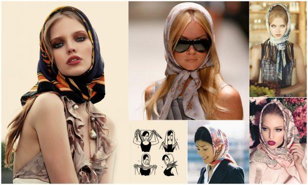 scarf on girls