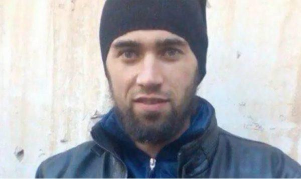 """так он выглядел перед отъездом в Сирию (скрин с передачи """"Центральное телевидение"""")"""