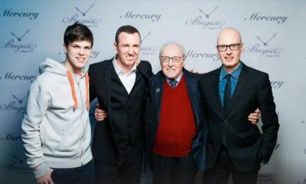 Эмиль Вергик с сыновьями и внуком в 2020 году. Фото 24smi.org