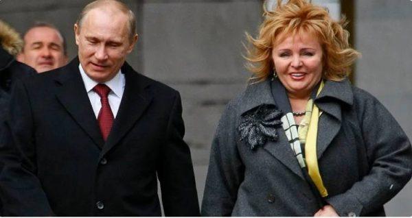 Владимир Путин с бывшей женой. Фото zen.yandex.ru
