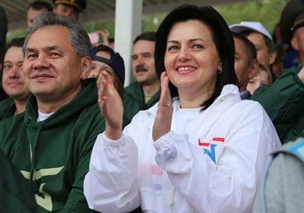 Сергей Шойгу с женой. Фото Сергей Шойгу