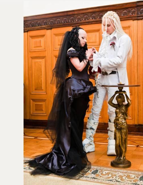Свадебные фото Саши и Иры Толстовых. Фото vk.com/pushba