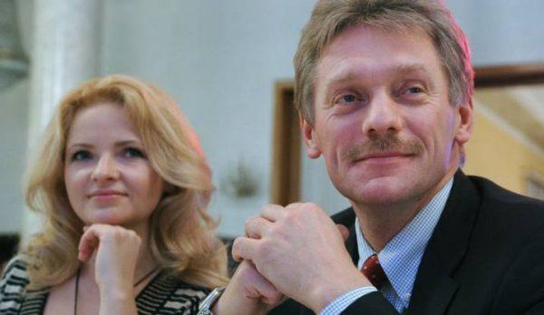 Дмитрий Песков со второй женой. Фото gazeta.ru