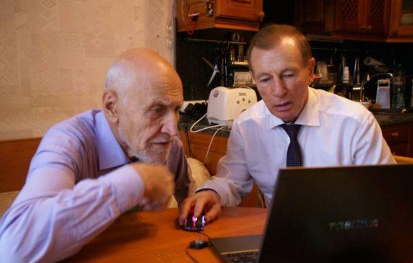 Николай Дзроздов и Юрий Гущо. Фото yuryguscho.ru
