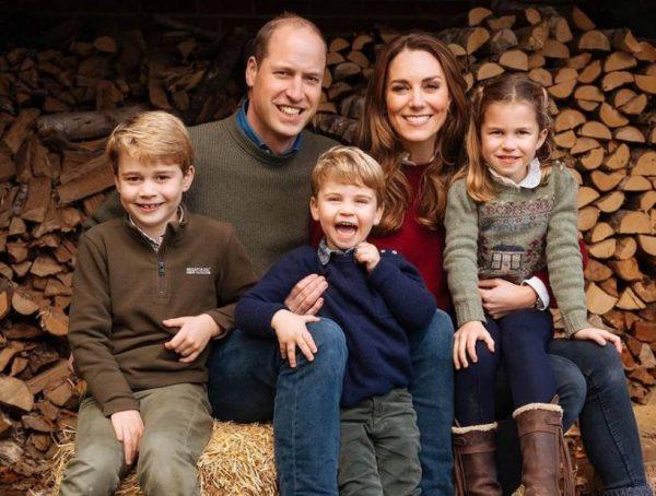 Герцоги с детьми. Фото Инстаграм