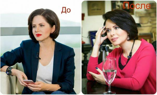 Виктория Ворожбит до пластики - фото