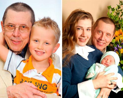Валерий Золотухин и Ирина Линдт с сыном Иваном. Фото wellnesso.ru