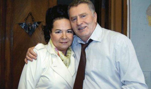 Владимир Жириновский с женой. Фото uznayvse.ru