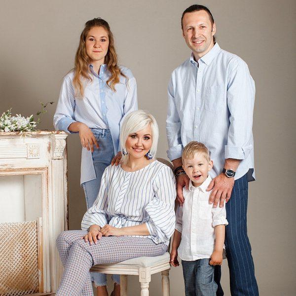 Семья Василисы Володиной. Фото muzh-zhena.ru