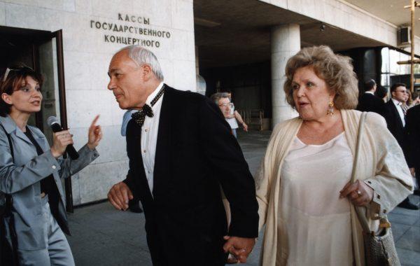 Владимир Познер и Екатерина Орлова