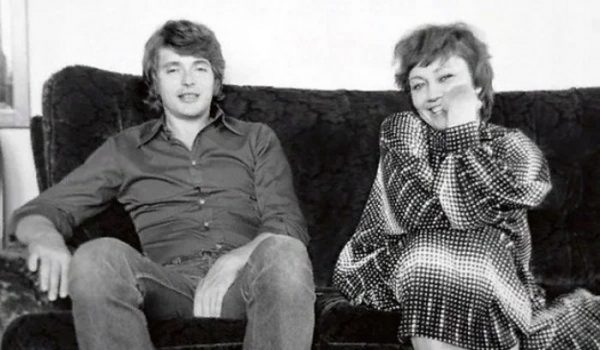 Лариса Лужина и Валерий Шувалов