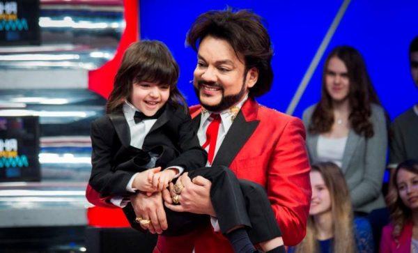 Киркоров с сыном