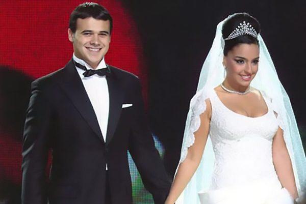 Эмин свадебное фото