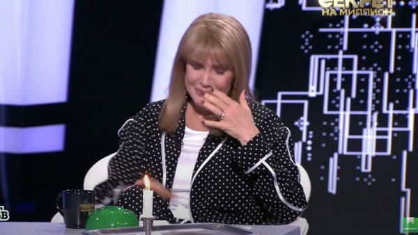 Елена Проклова плачет