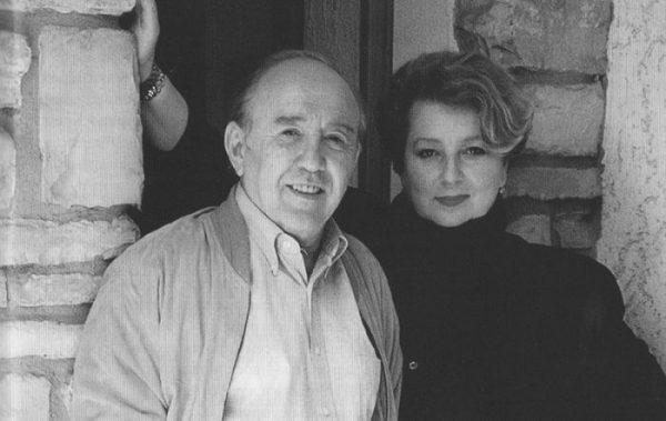 Татьяна Тарасова с мужем