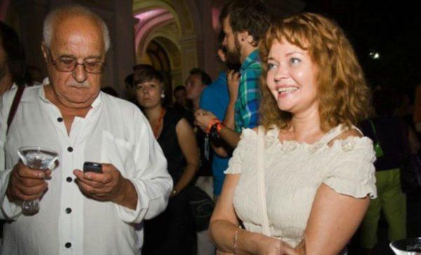 Анна Назарьева с мужем
