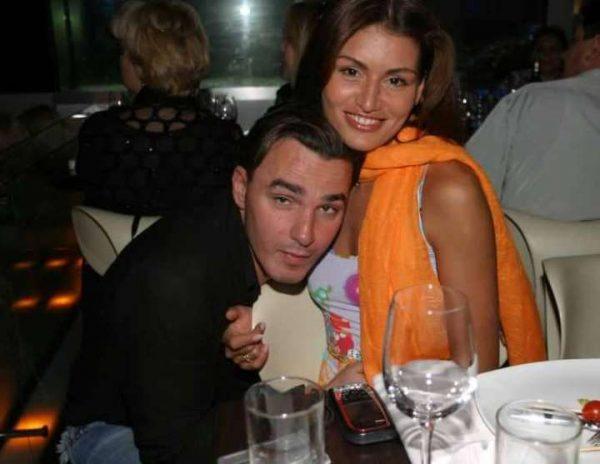 Кирилл Андреев с женой в молодости
