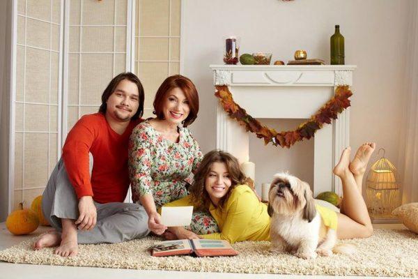 Семейное фото Розы Сябитовой