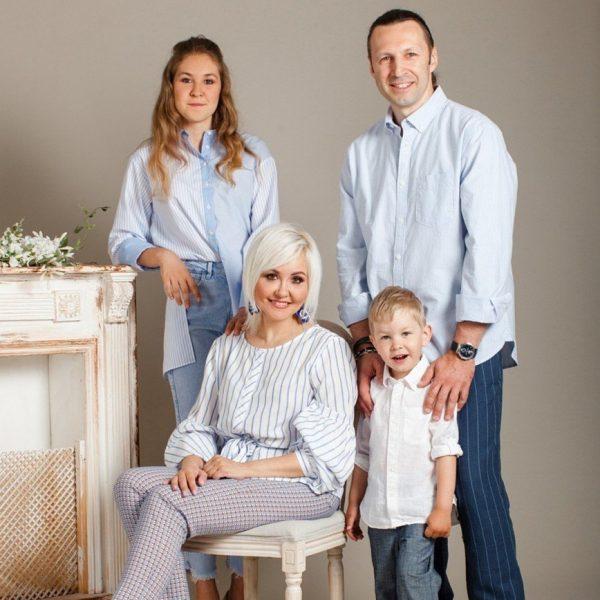 Семейное фото Василисы Володиной