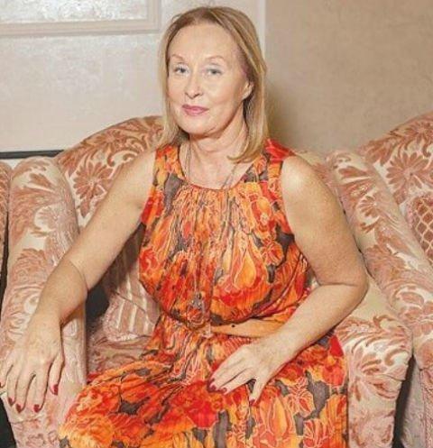 Лариса Удовиченко в платье