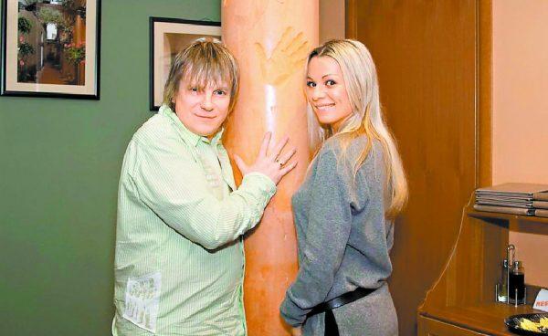 Салтыкова с бывшим мужем