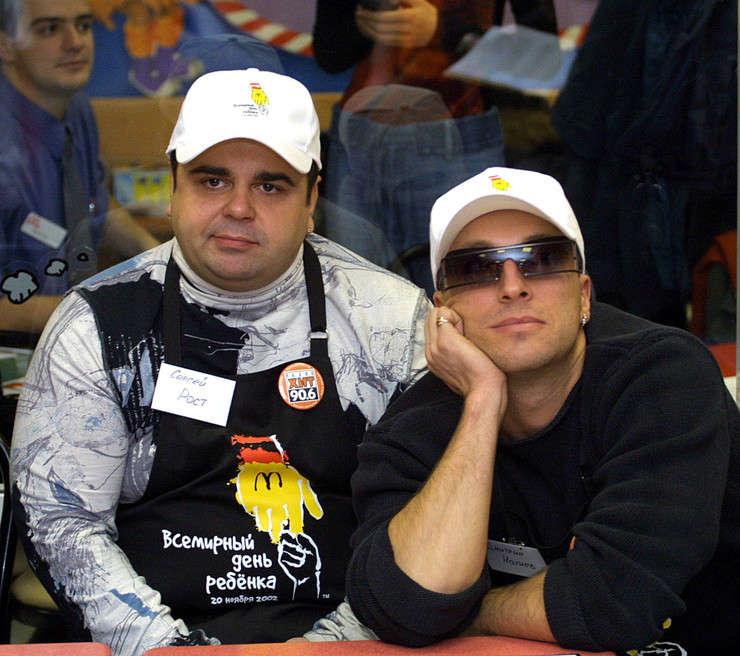 Дмитрий Нагиев и Сергей Рост. Фото msn