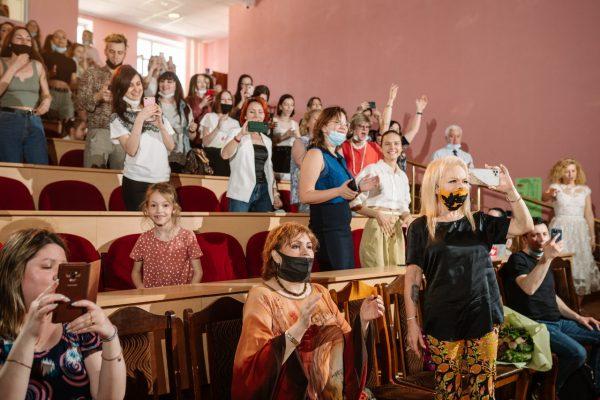 Студенты были в восторге от выступления Цой