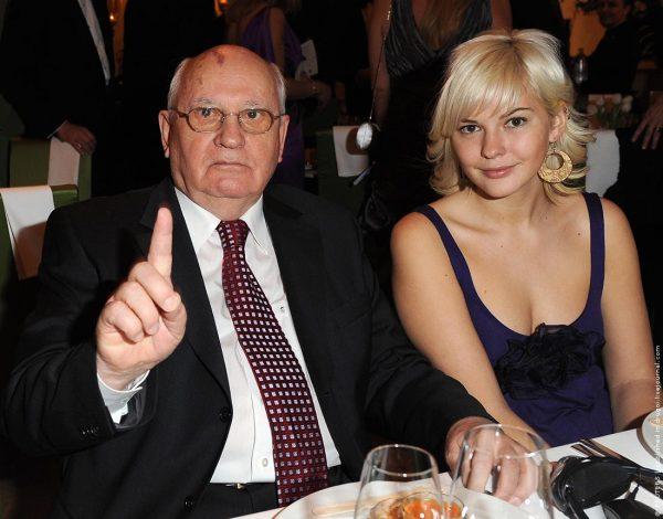 Ксения Вирганская-Горбачева с дедом