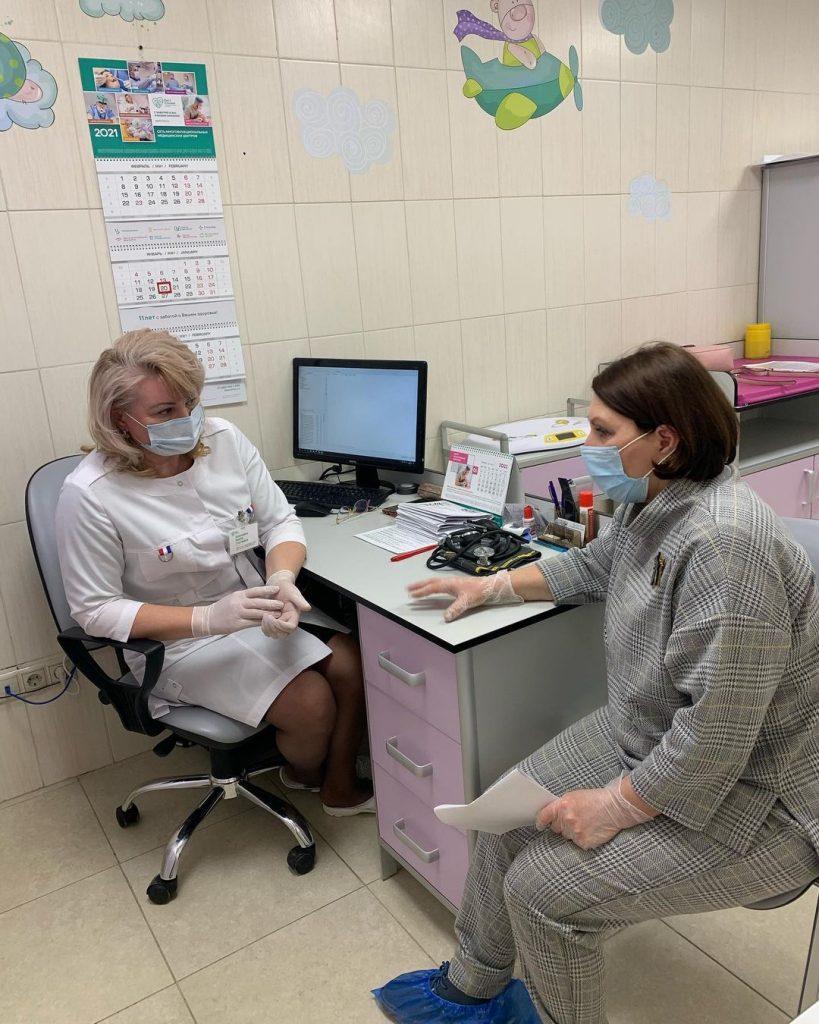 Роза Сябитова в клинике. Фото Инстаграм