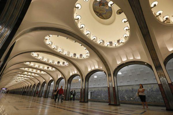 """В московском метро можно будет расплачиваться """"лицом"""" за проезд"""