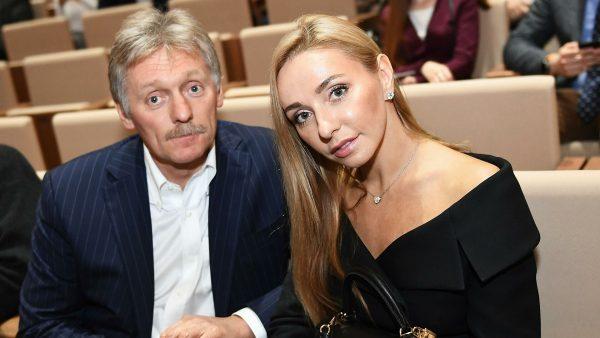 Дмитрий Песков и Татьяна Навка. Фото РИА Новости