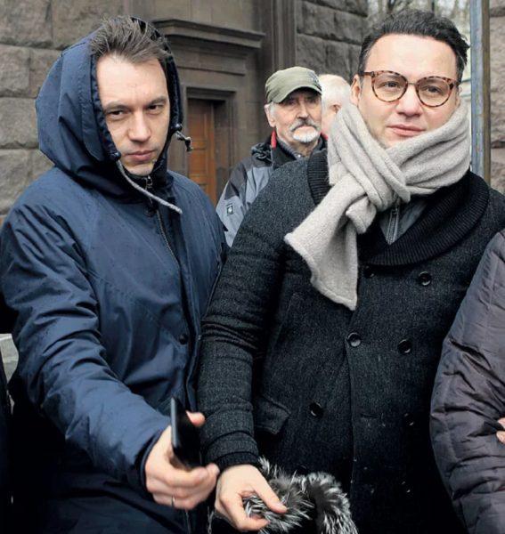Максим Абросимов и Александр Олешко