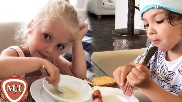 Еда детей Пугачёвой и Галкина