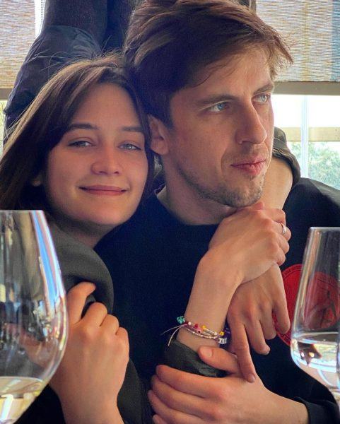 Лиза Янковская и Александр Паль