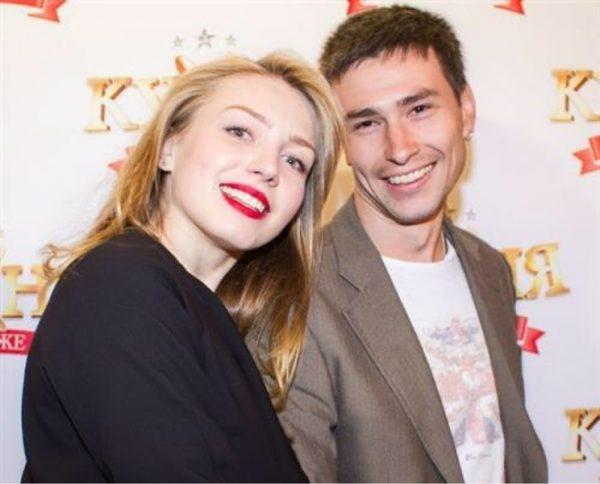 Максим Онищенко с первой женой Валерией Федорович