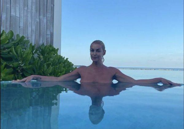 Анастасия Волочкова любит отдыхать на Мальдивских островах