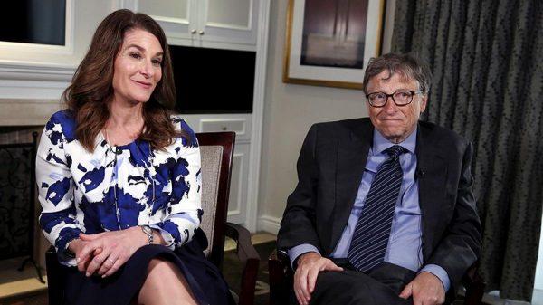 Мелинда и Билл Гейтсы