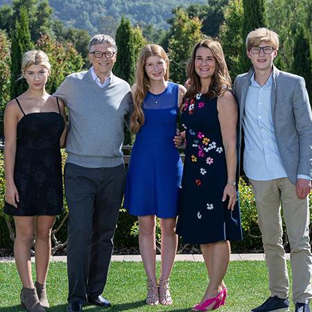 Семья Гейтсов