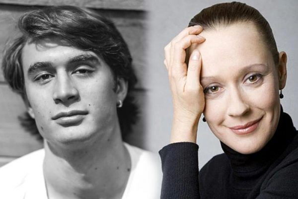 Евгения Дмитриева и её молодой муж Владимир