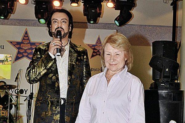 Люся и Киркоров. Фото 7 дней