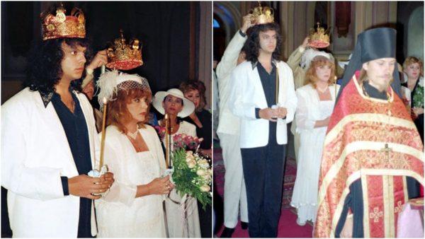Венчание Пугачёвой и Киркорова