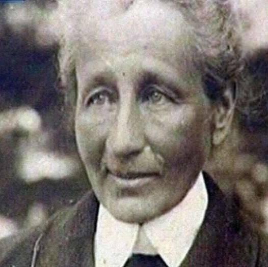 Мария Гартунг в старости